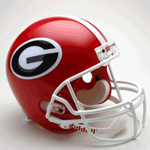 Georgia Bulldogs Full Size Replica Riddell Helmet